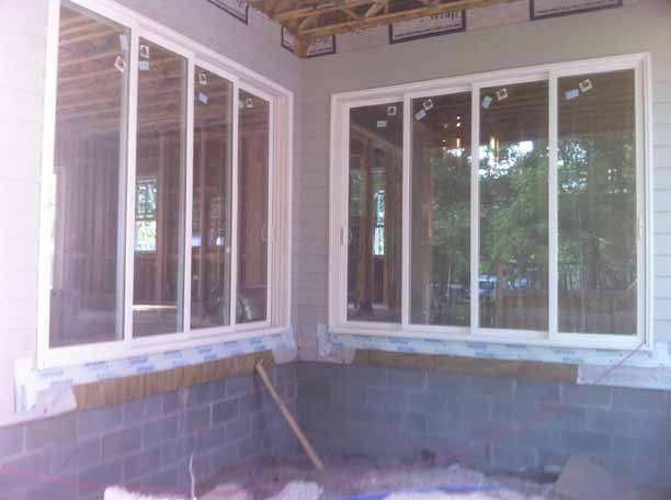 Southern Rose Construction Windows Painted Vinyl Windows