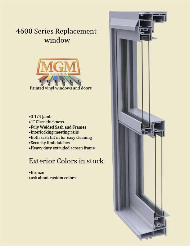 Double Hung Window 4600