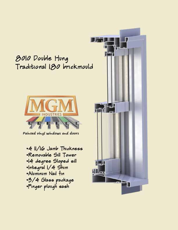 Double Hung Window 8010