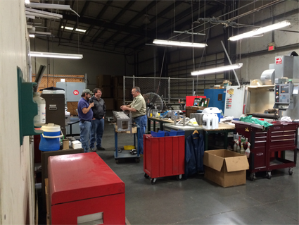 MGM Industries Extrusion tooling department