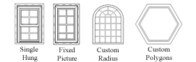 Available Window Configurations