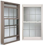 Series 6013 PVC Vinyl  New Construction Single Hung Windows