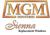 MGM Industries Sienna Replacment Windows